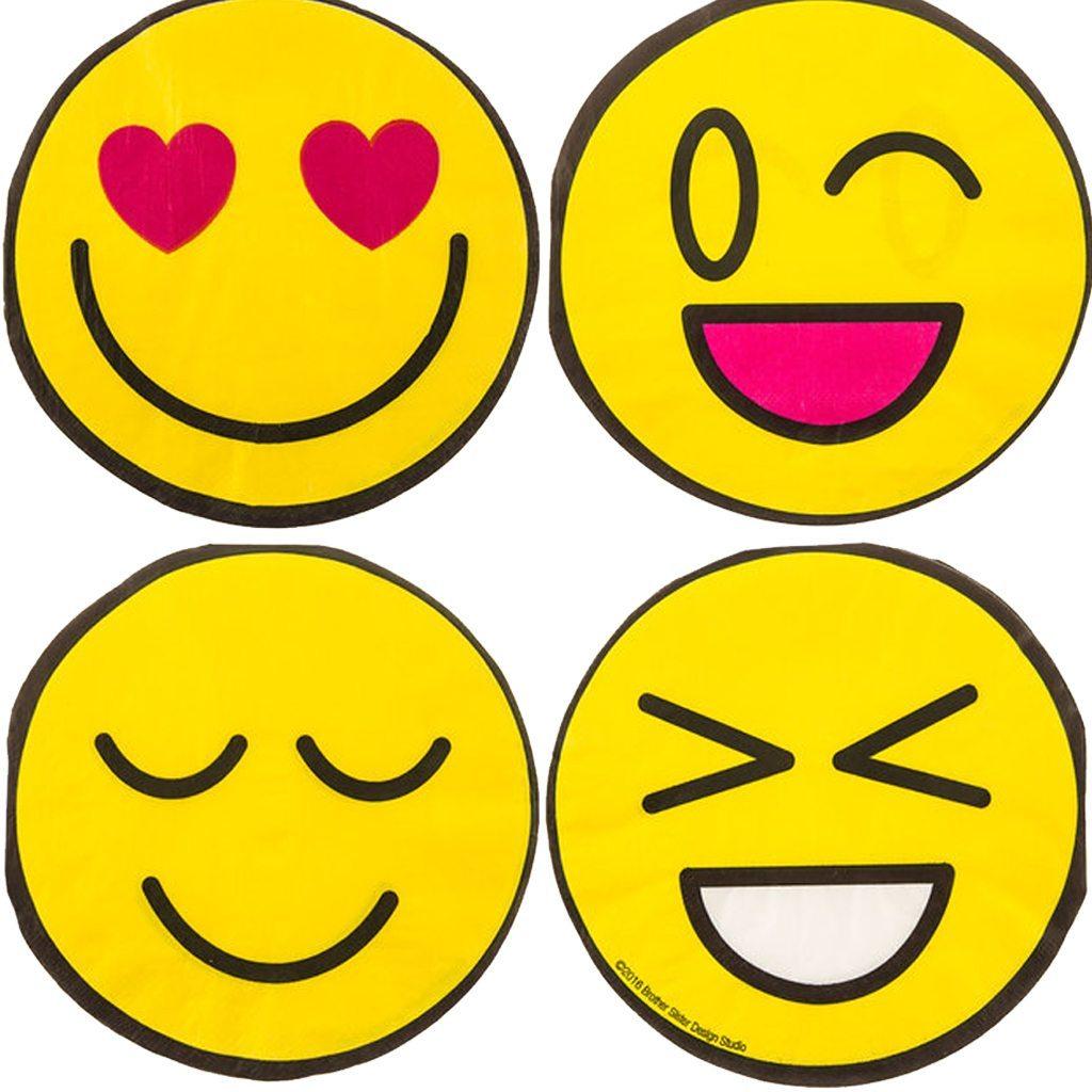 HBD2U! Emoji Napkins Hobby Lobby