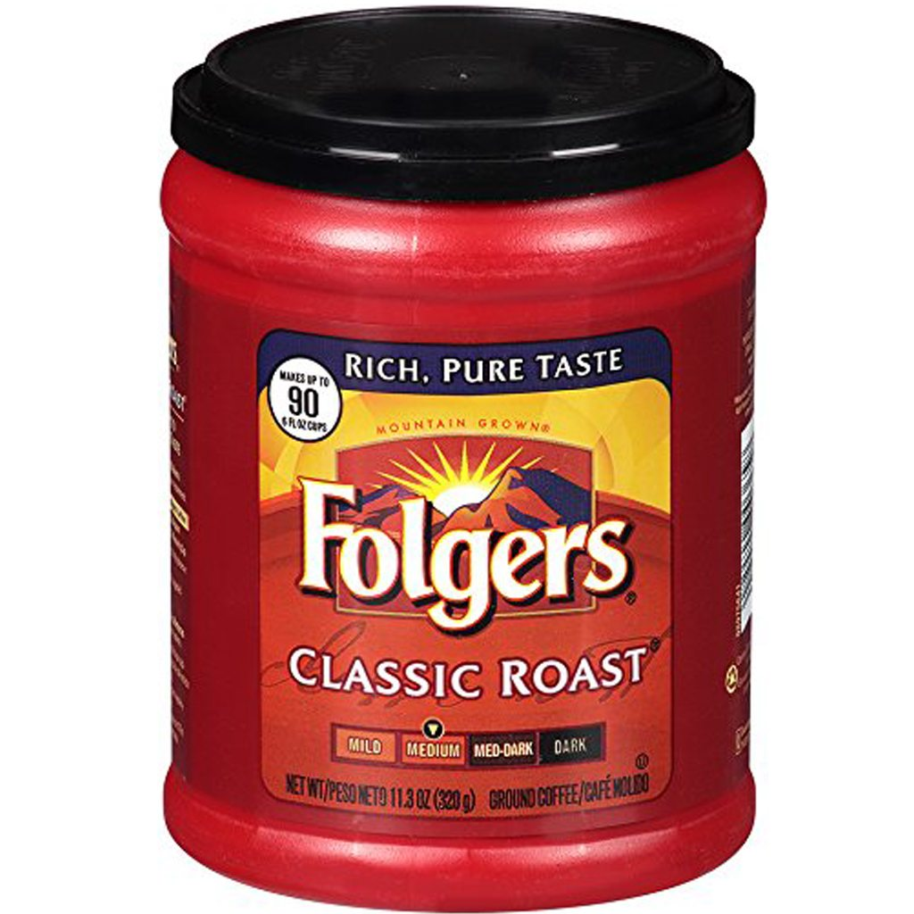 Folgers Classic Roast, Medium Roast, Ground Coffee