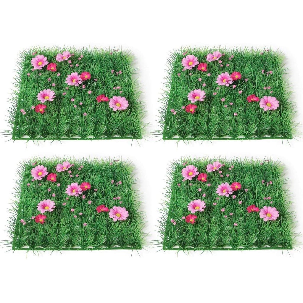 Artificial Grass Mats (Set of 4)