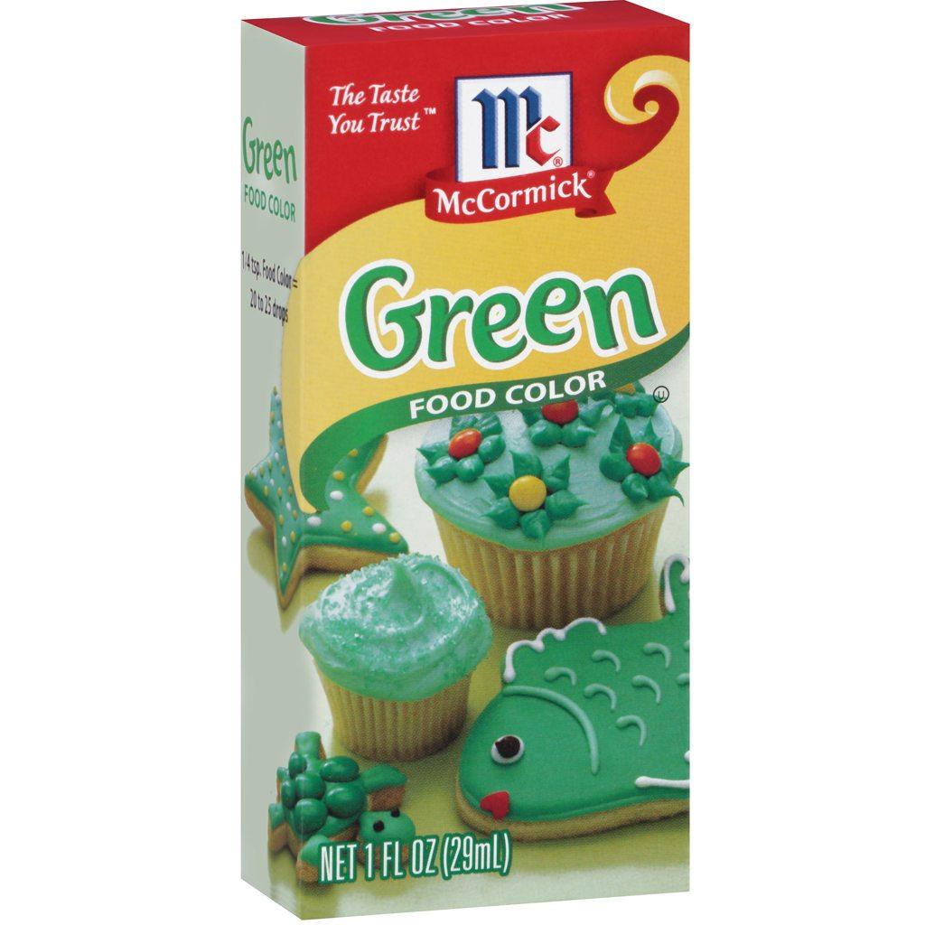 McCormick Green Food Coloring