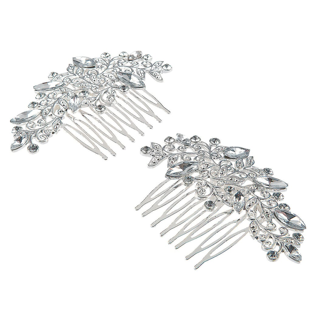 BRIDAL CRYSTAL COMBS - Marry Me Oriental Trading
