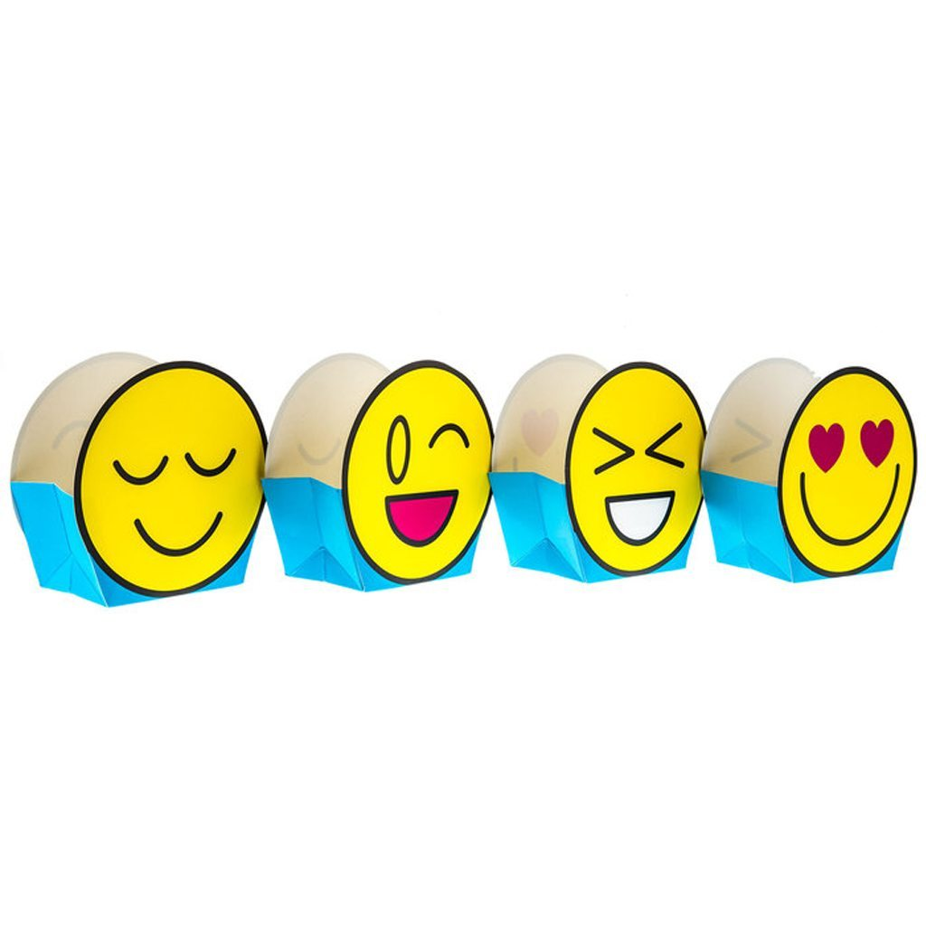 HBD2U! Emoji Favor Boxes Hobby Lobby