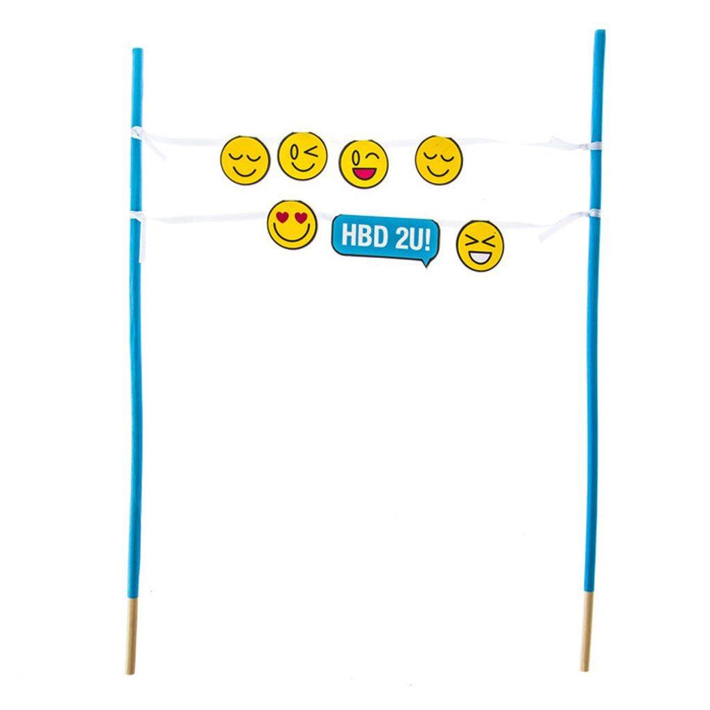 HB2U! Emoji Cake Topper Banner Hobby Lobby