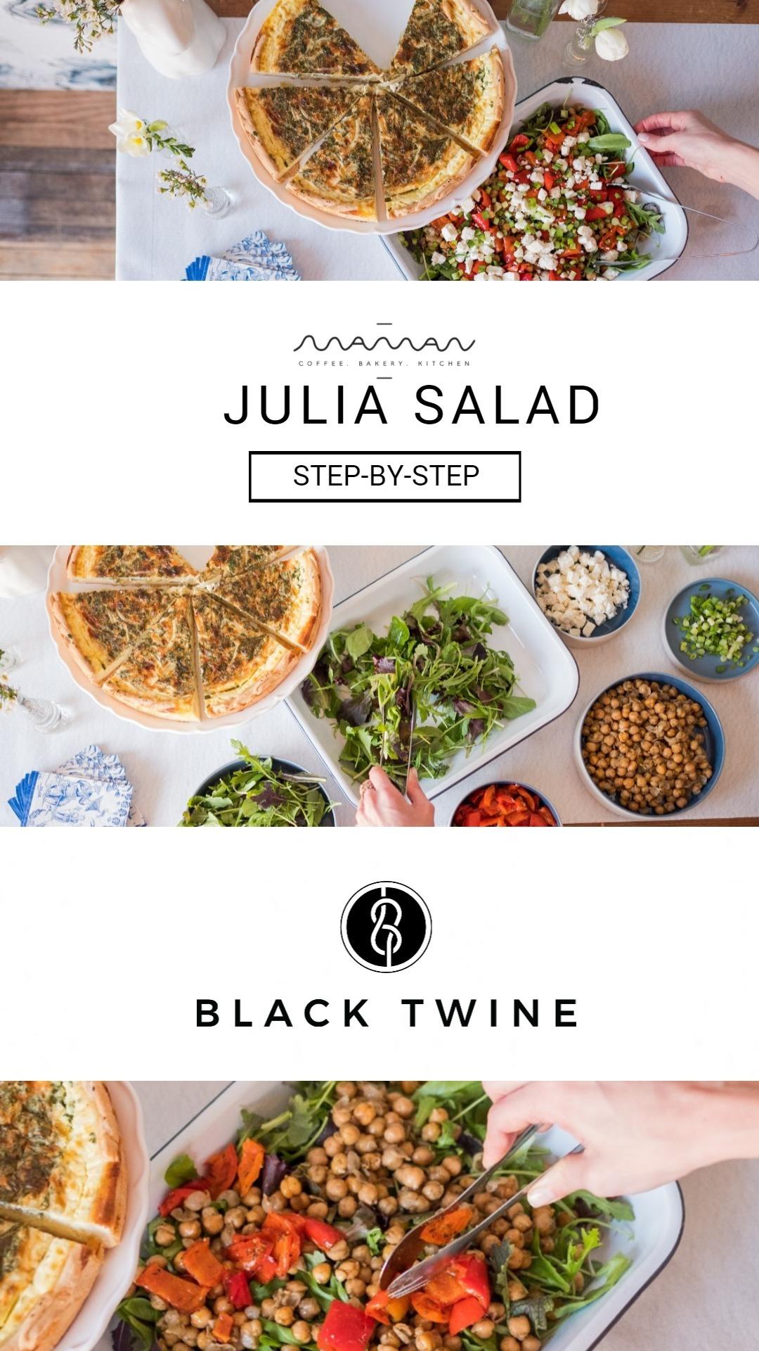 How to make Maman Julia Salad | Black Twine