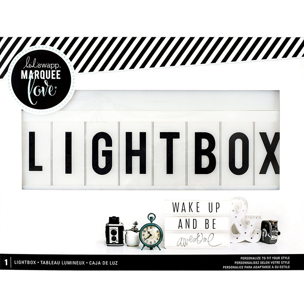 Heidi Swapp Light Box by American Crafts | 13 x 10-inch White Cinematic Lightbox