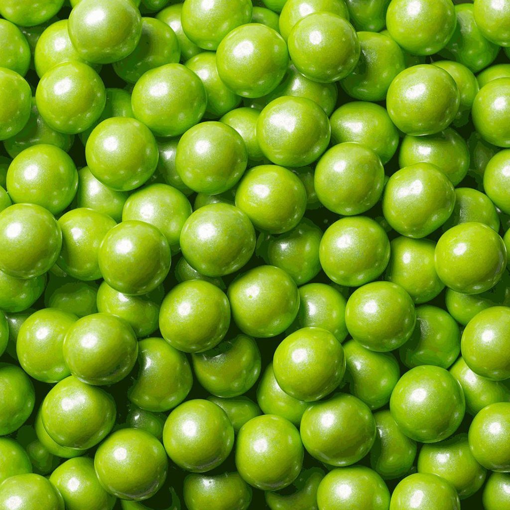 lime green chocolate candy sixlets