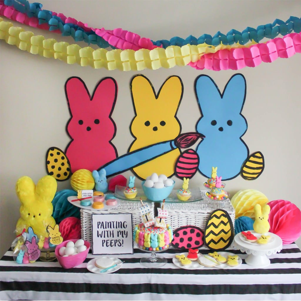 Peeps Party Printables by Just Add Confetti