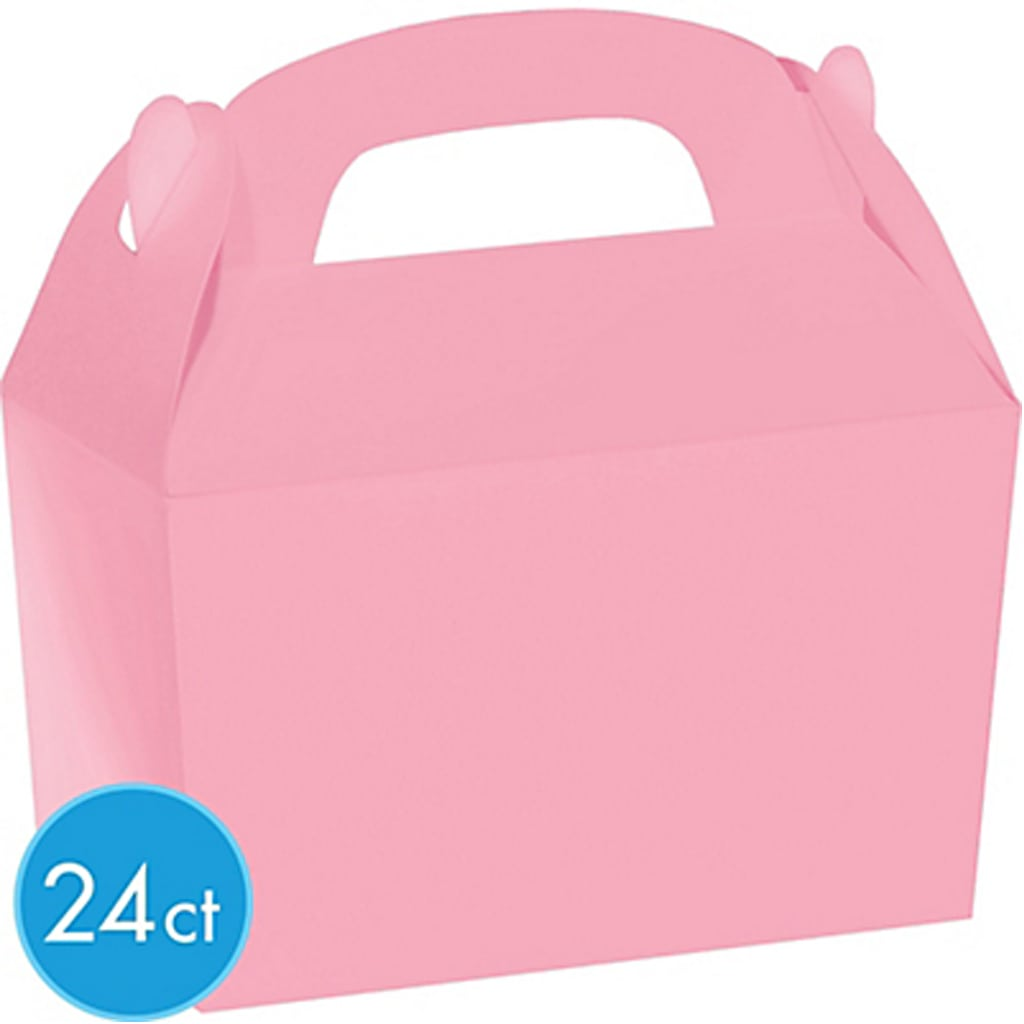 Pink Gable Boxes from Party City