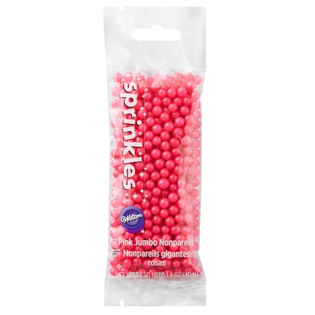 Wilton® Jumbo Nonpareils Sprinkles™ Pink