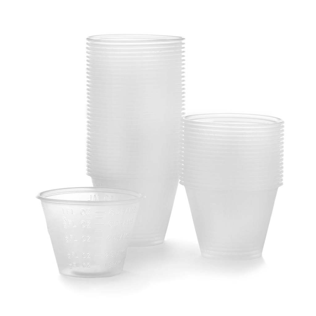 plastic craft mixing cups
