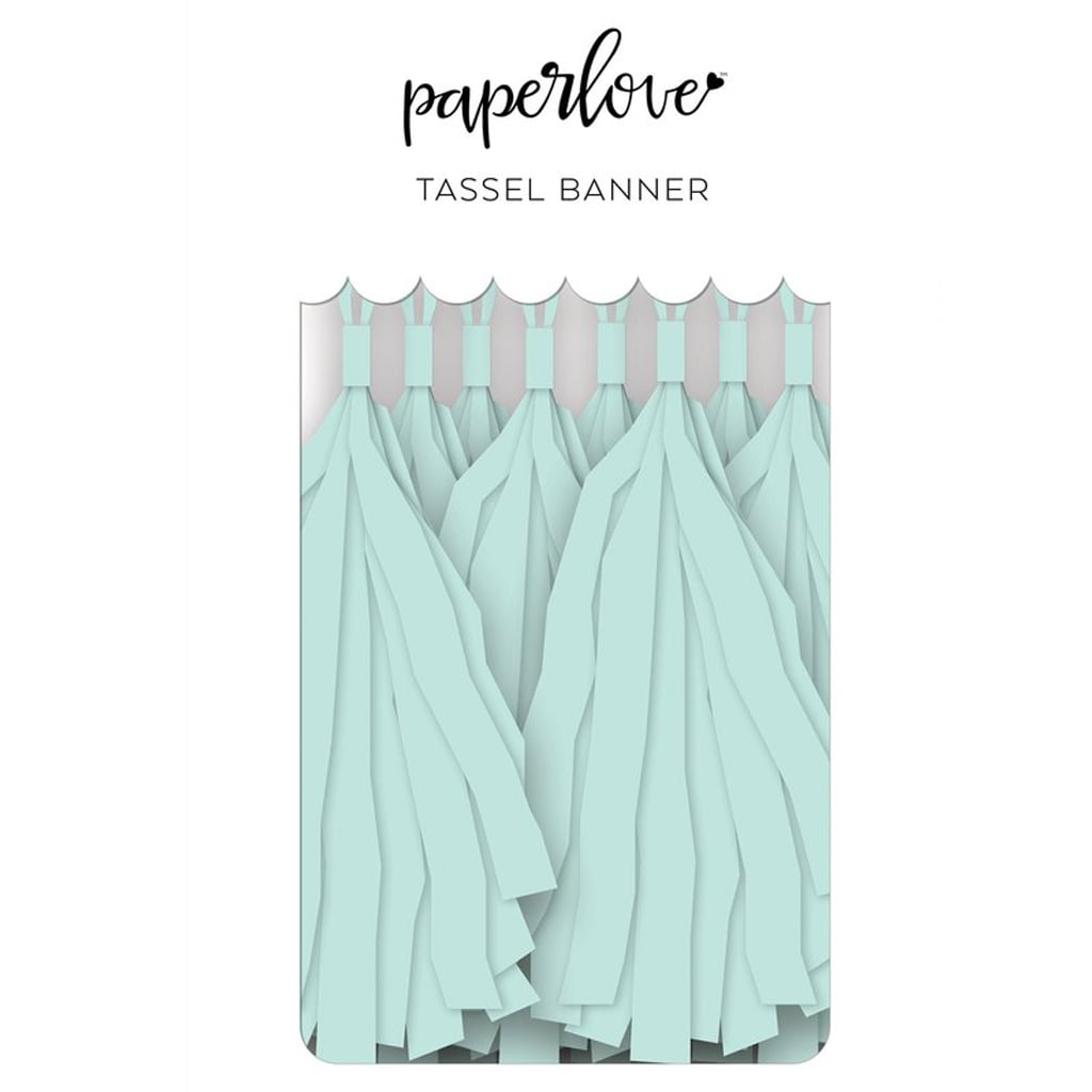 PAPER LOVE TASSEL BANNER: SKY - My Mind's Eye