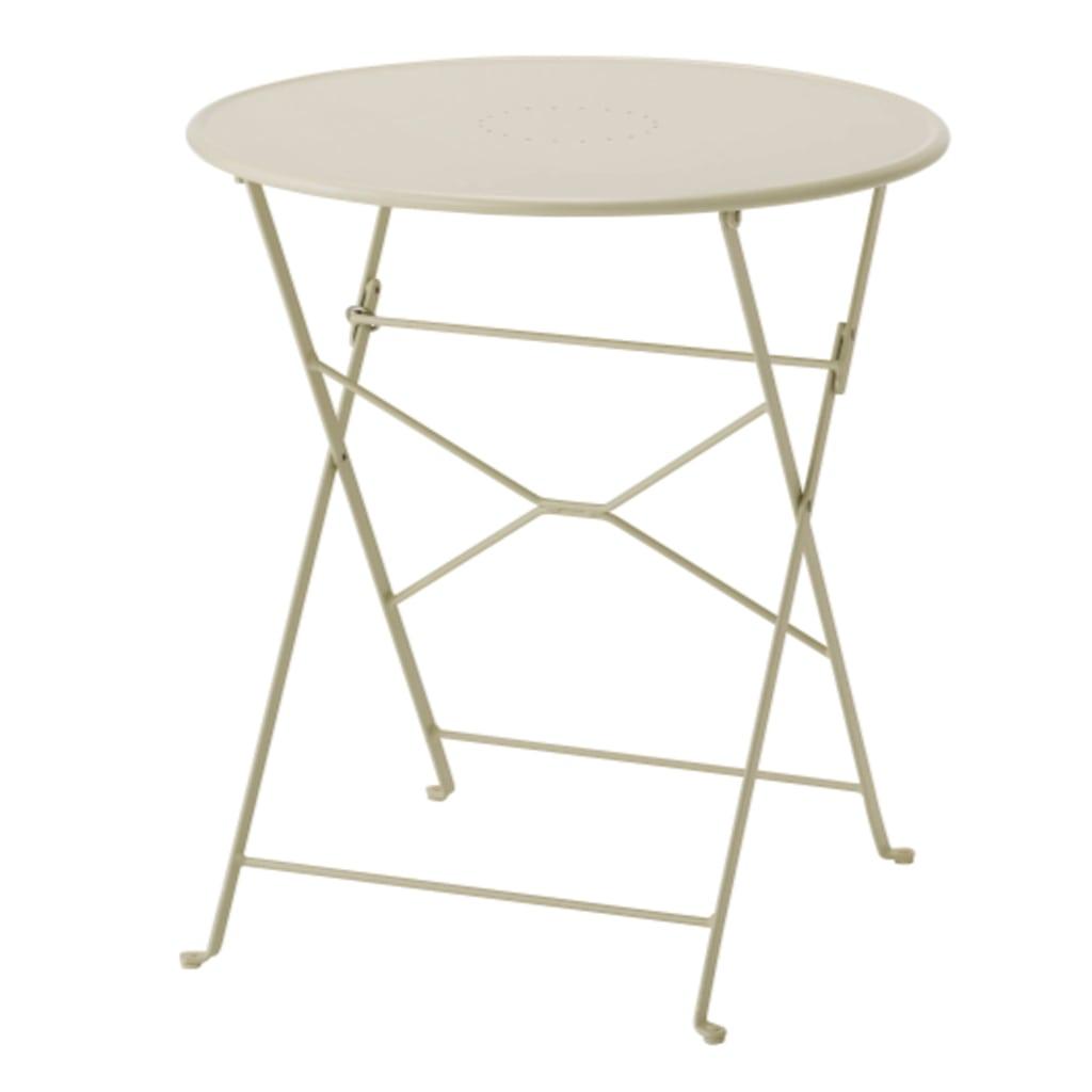 IKEA white Saltholmen folding table