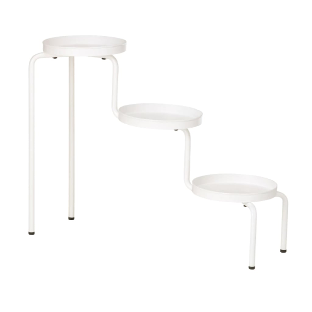 IKEA white plant stand