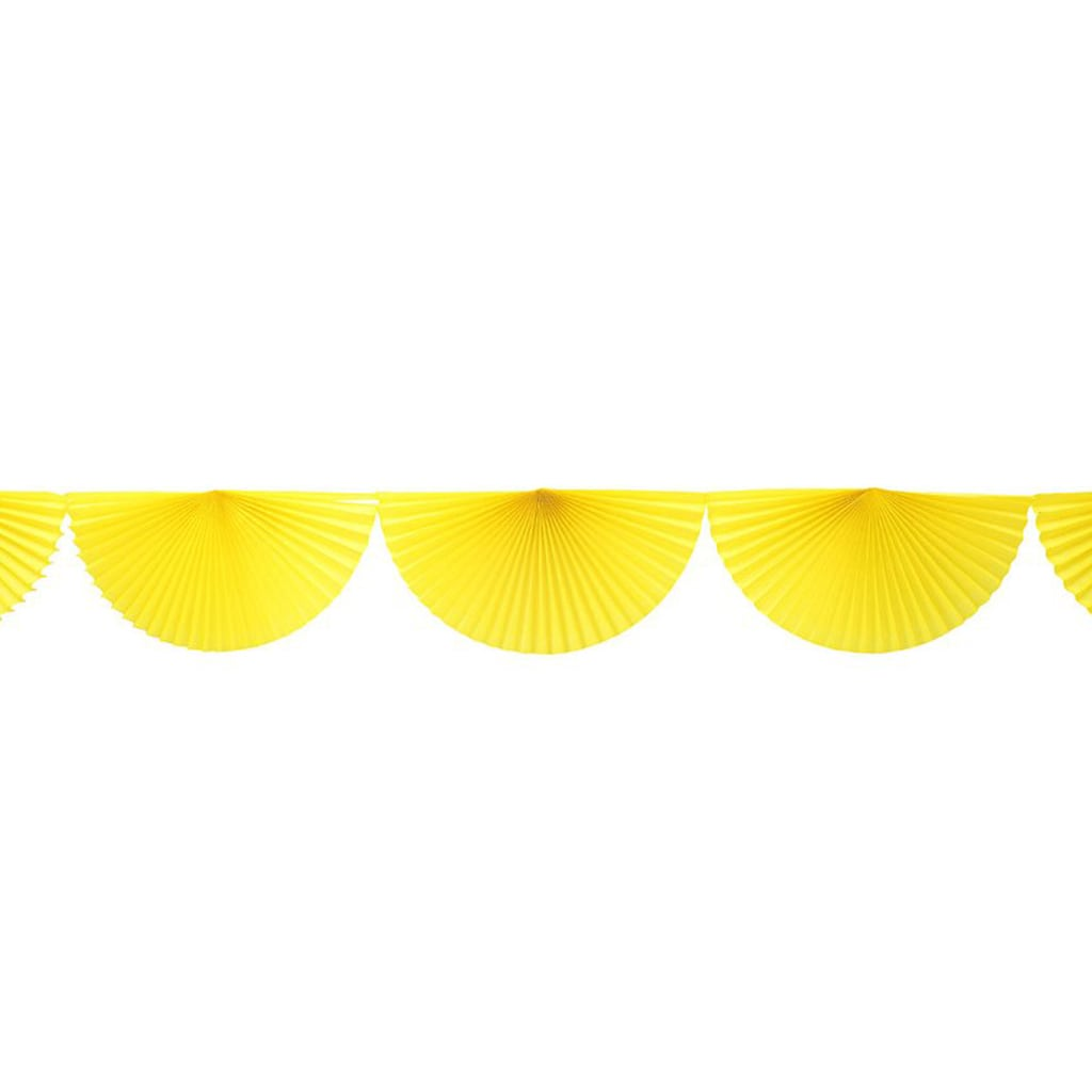 yellow bunting dan garland