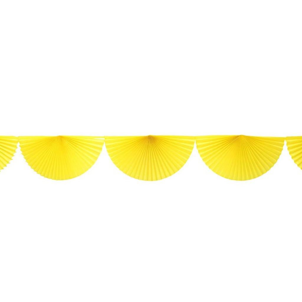 yellow bunting dan garland