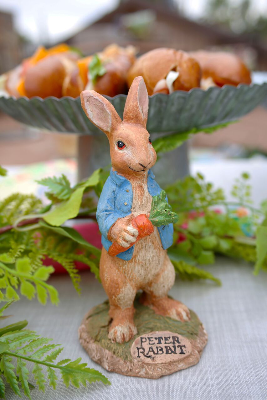Peter Rabbit Figurine from Peter Rabbit party by Jordan's Easy Entertaining