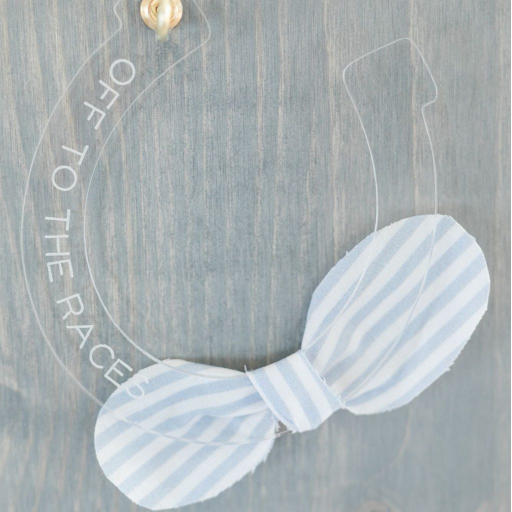 Acrylic Horseshoe Favor by California Lustre
