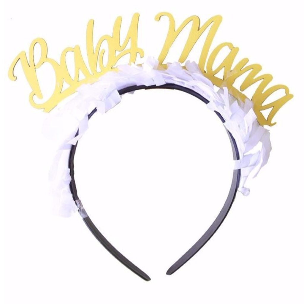 Baby Mama Party Headband - Bracket