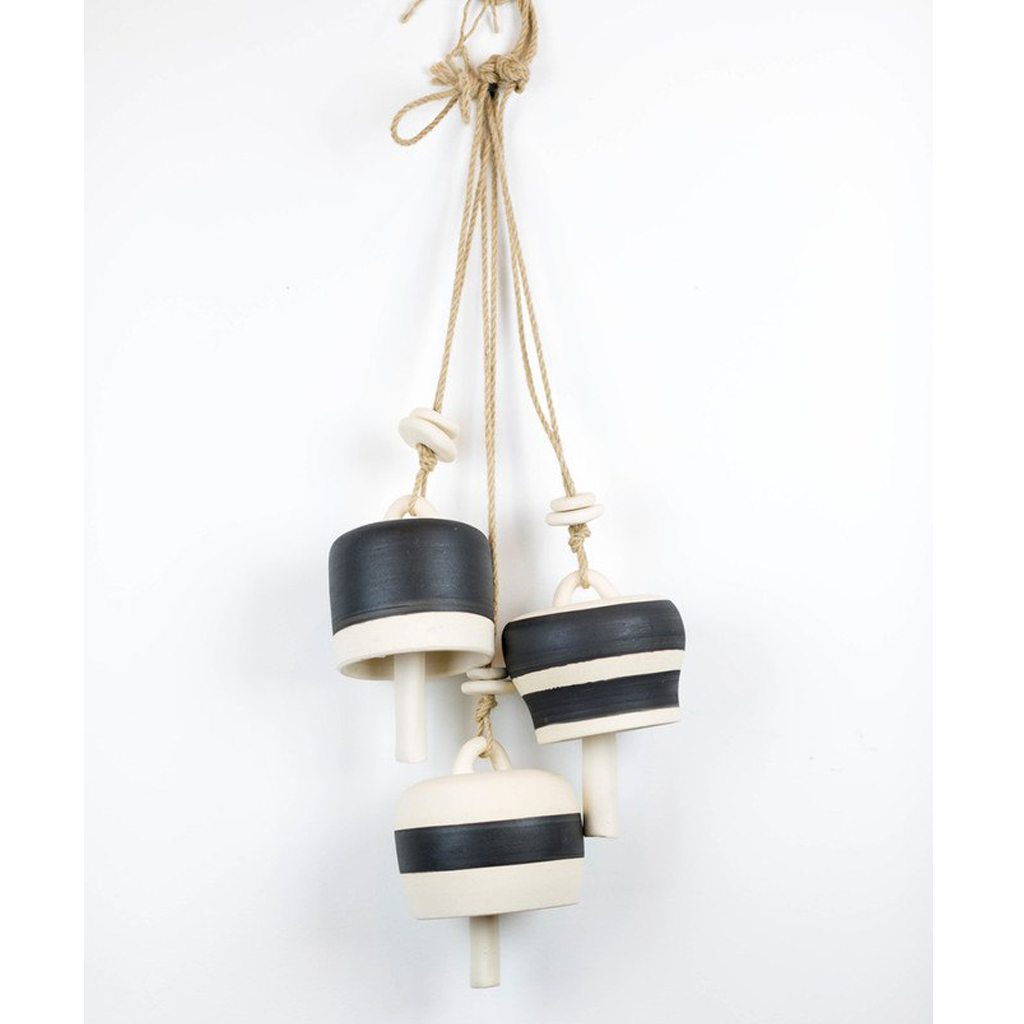 Black & White Porcelain Bell