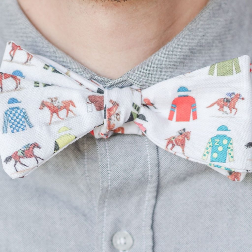 "Bow Tie in ""American Triple Crown Winners"" by leroyj from Sprout Patterns"