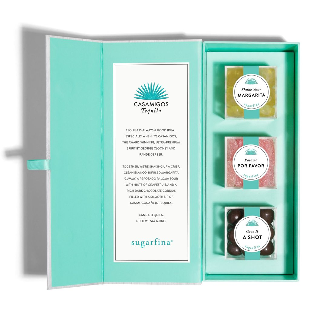 "CASAMIGOS ""YOU HAD ME AT TEQUILA"" CANDY BENTO BOX® by Sugarfina"