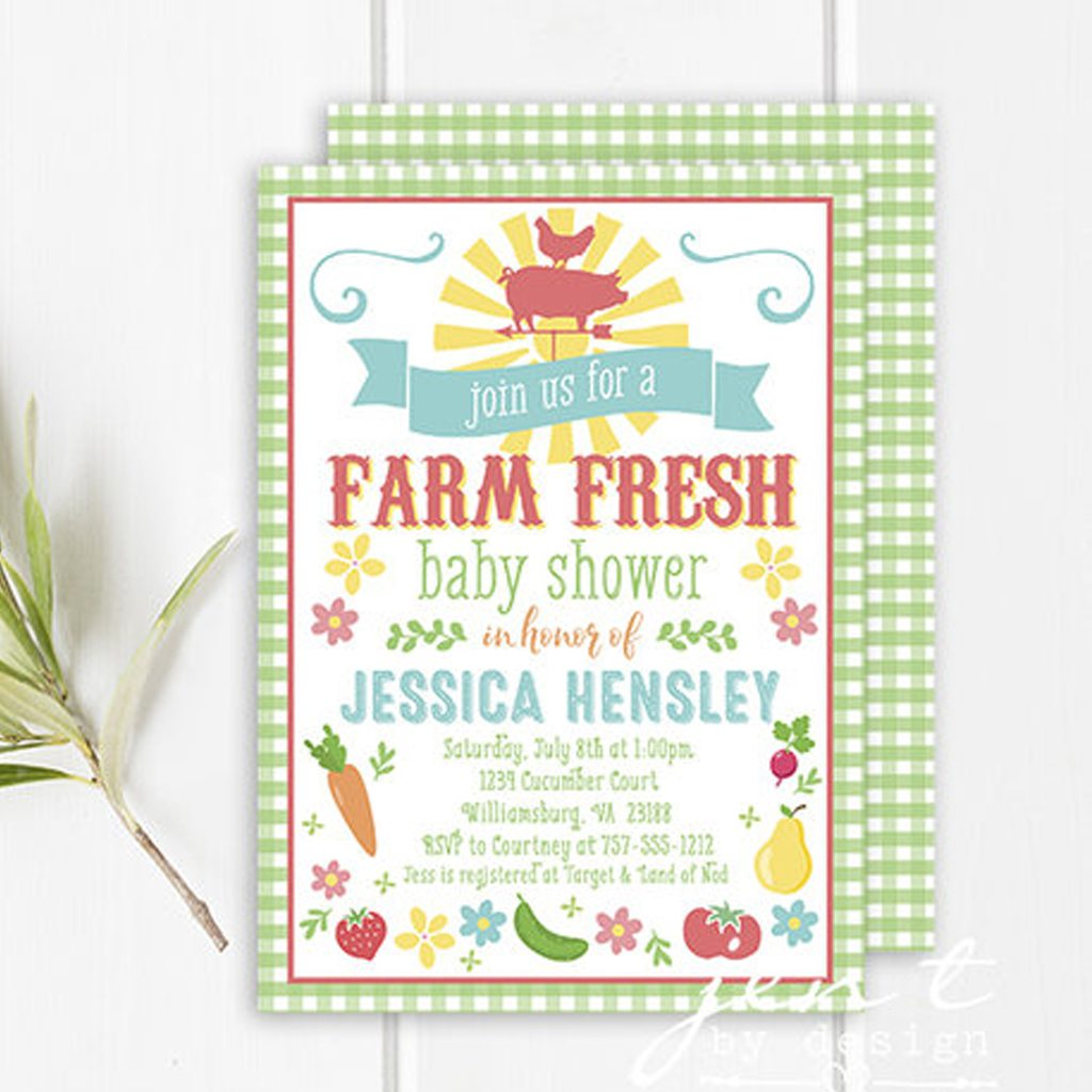 Baby Shower Invitation (DIY Printable) by Jen T by Design