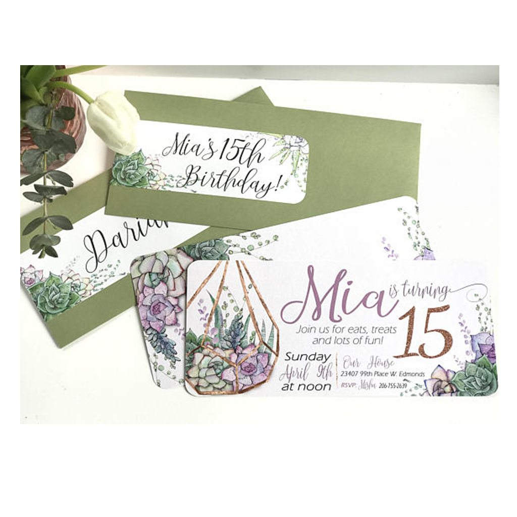 Invitations by A Lovely Design