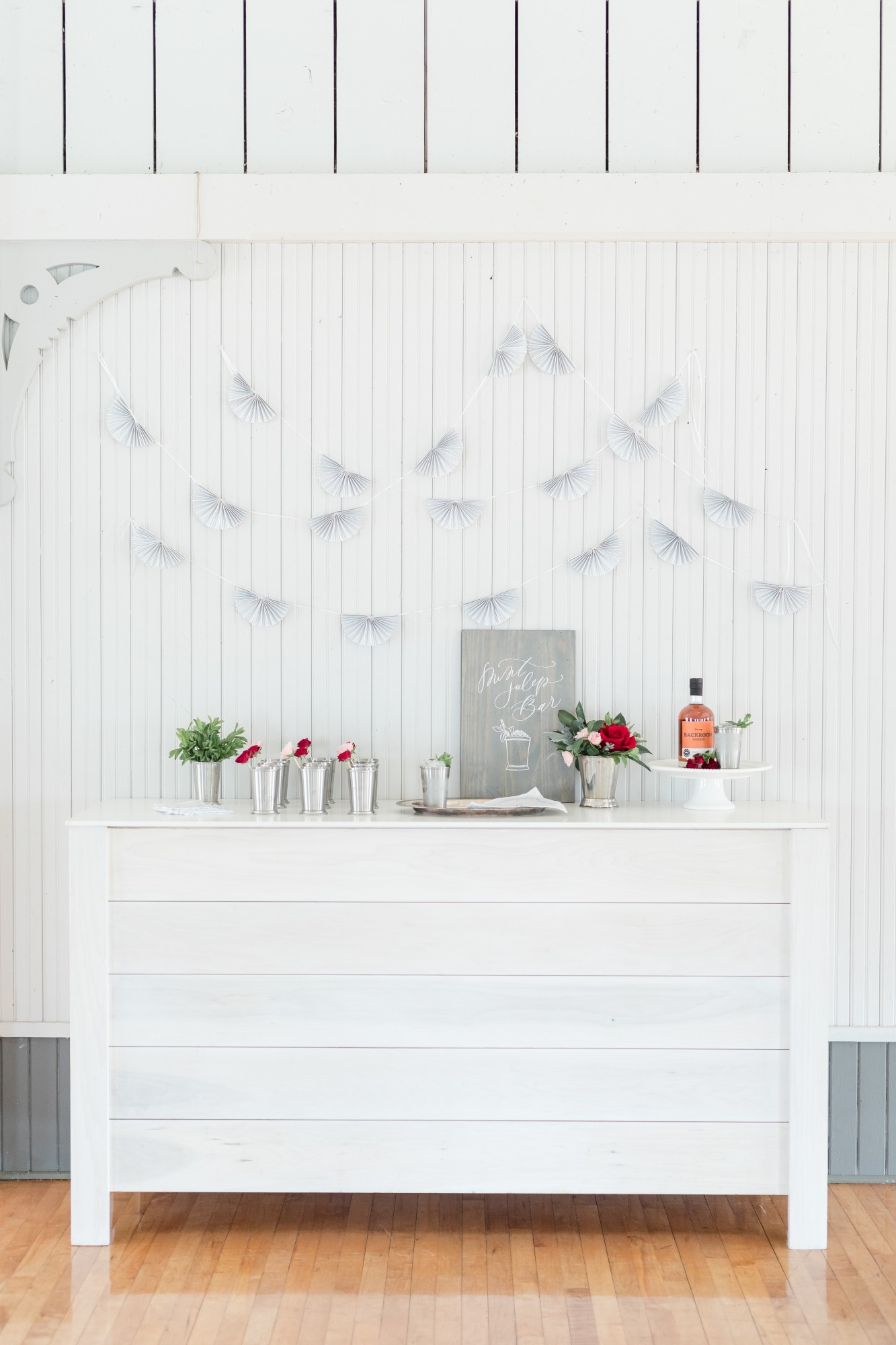 Mint Julep Bar from Off to the Races Derby Party Styled by Cherry Blossom Events | Black Twine