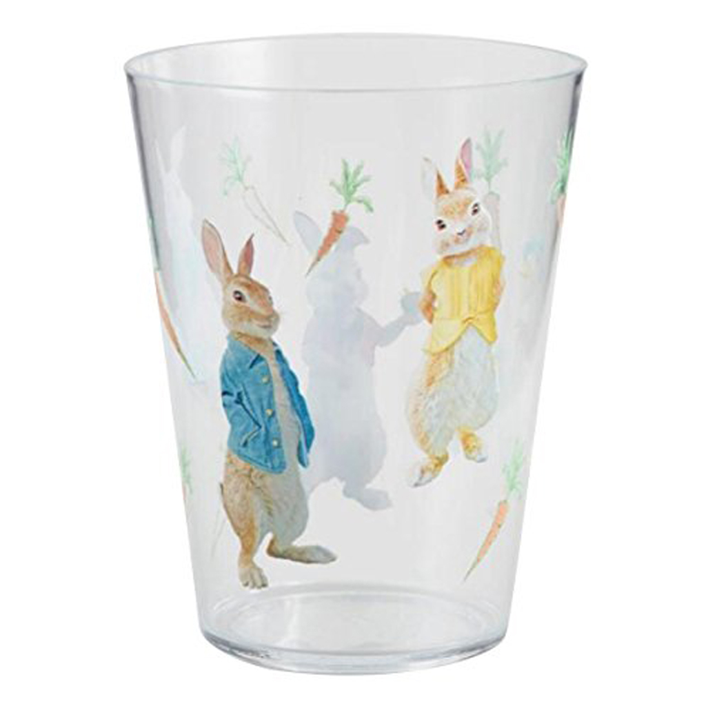 Peter Rabbit Acrylic Juice Tumblers Set Of 4