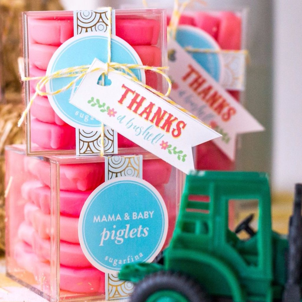 Thank You Favor Tags (DIY Printable) by Jen T by Design