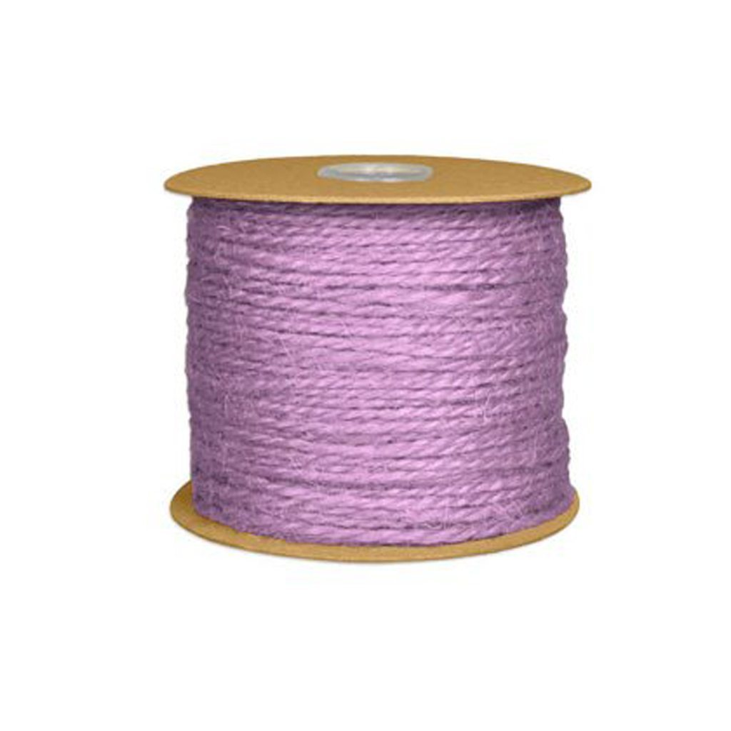 Lavender Jute Twine from Online Fabric Store