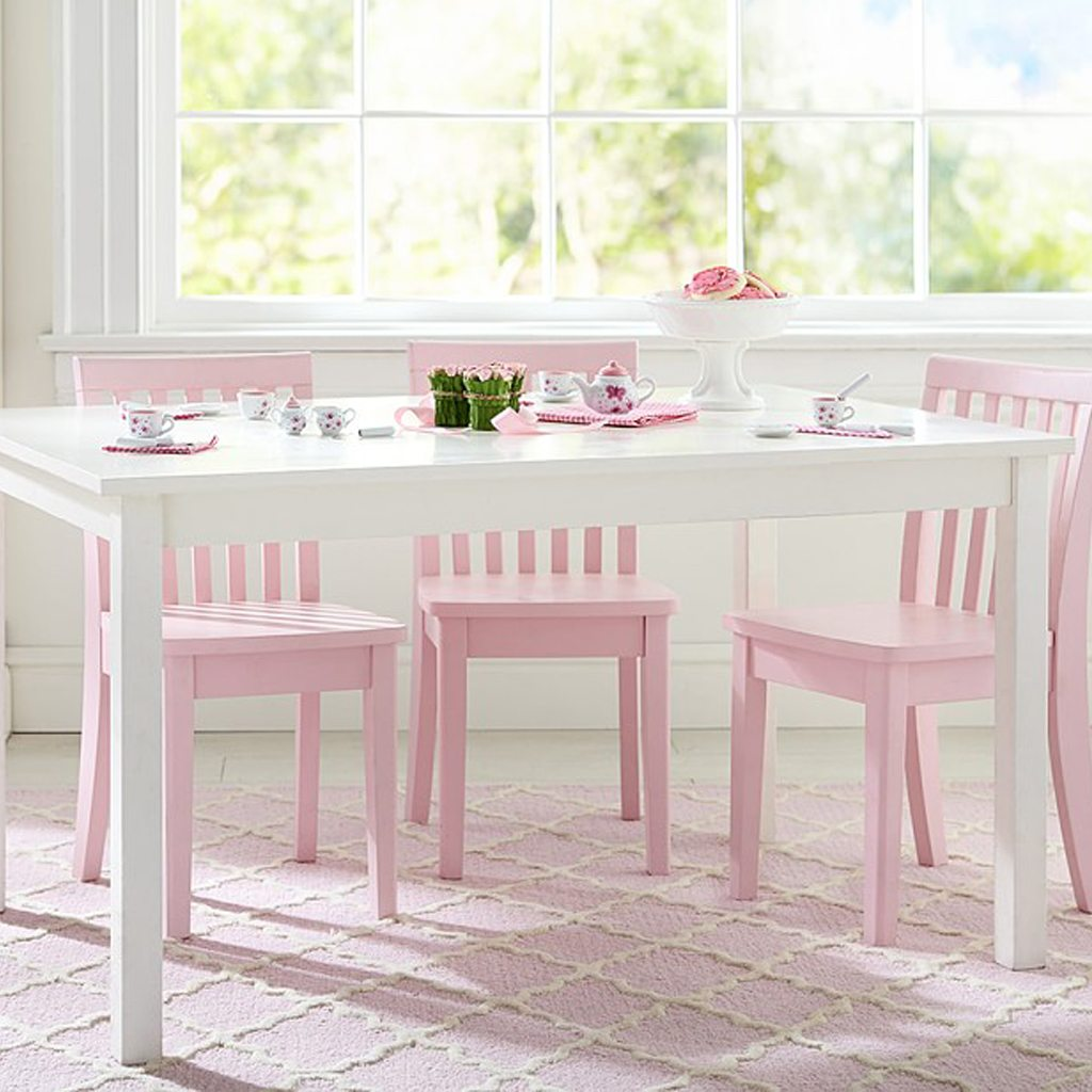 White Play Table by Pottery Barn Kids