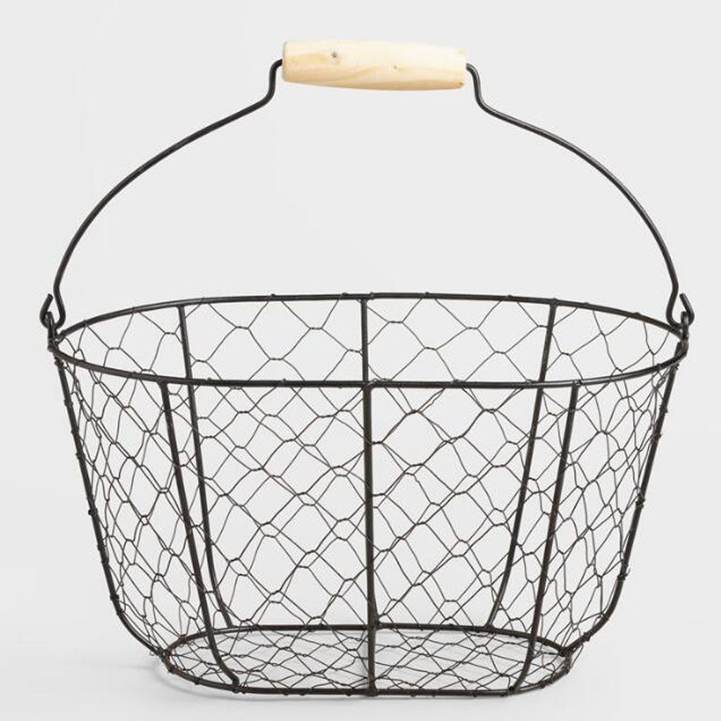 wire farm basket - cost plus world market