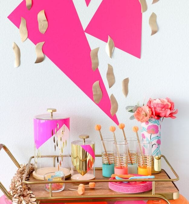Turn your Bar Cart into a Party Cart with Kailo Chic