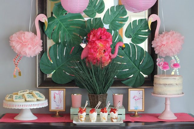 A Flamingo Themed Party: Celebrate Mother's Day with a Flamingle