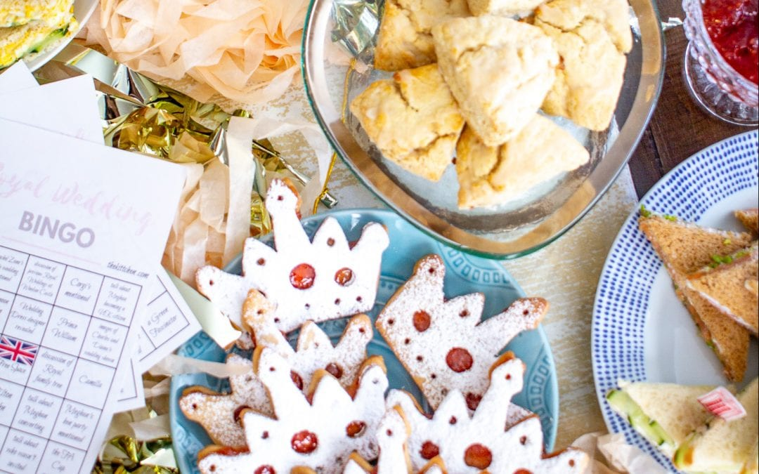 Everything British in This Charming Afternoon Tea Party with The Kittchen