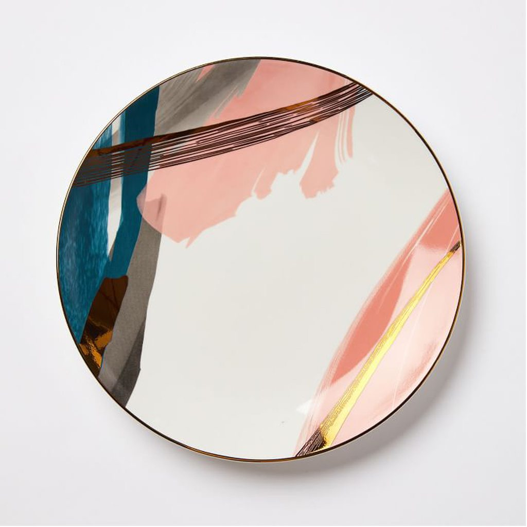 Brushstroke Dinner Plates by West Elm