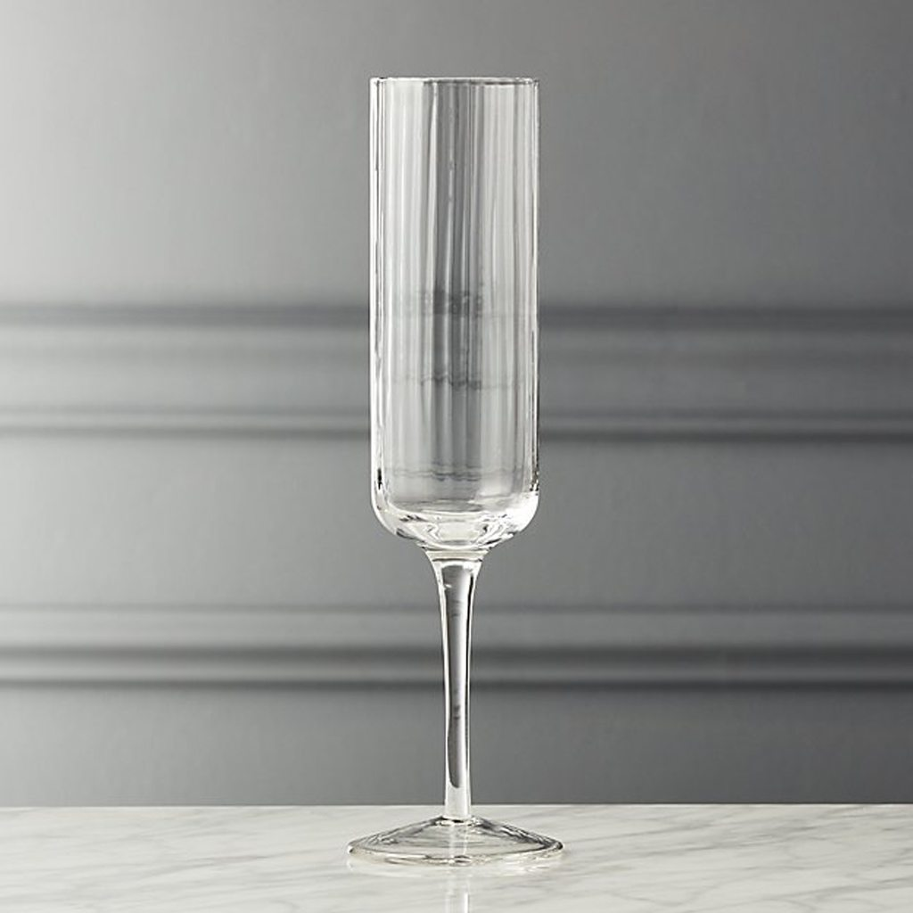 illusion champagne flute by CB2