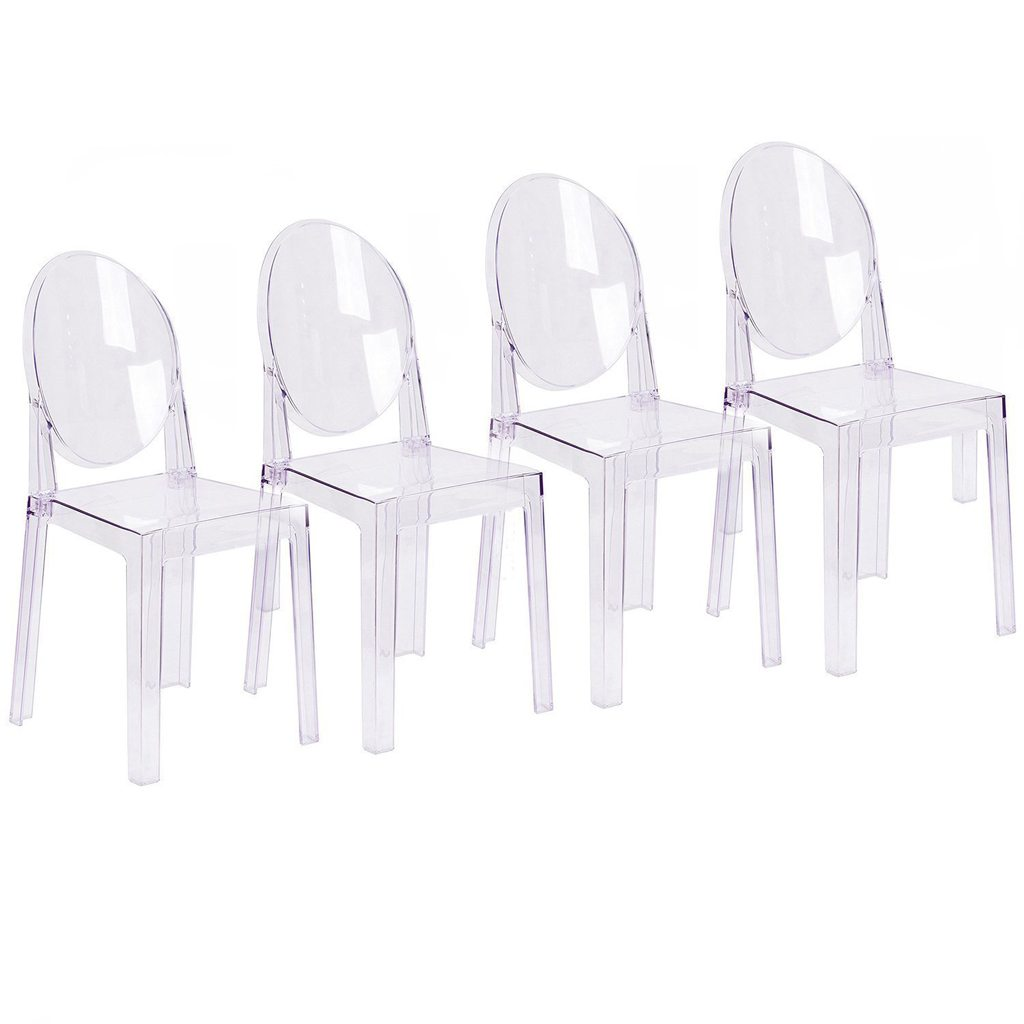 Acrylic Ghost Chairs from 2xHome