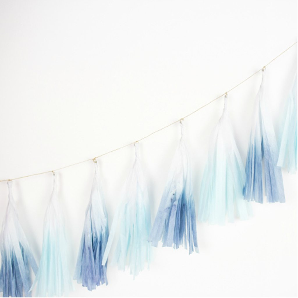 Dip Dye Tassels from One Stylish Party