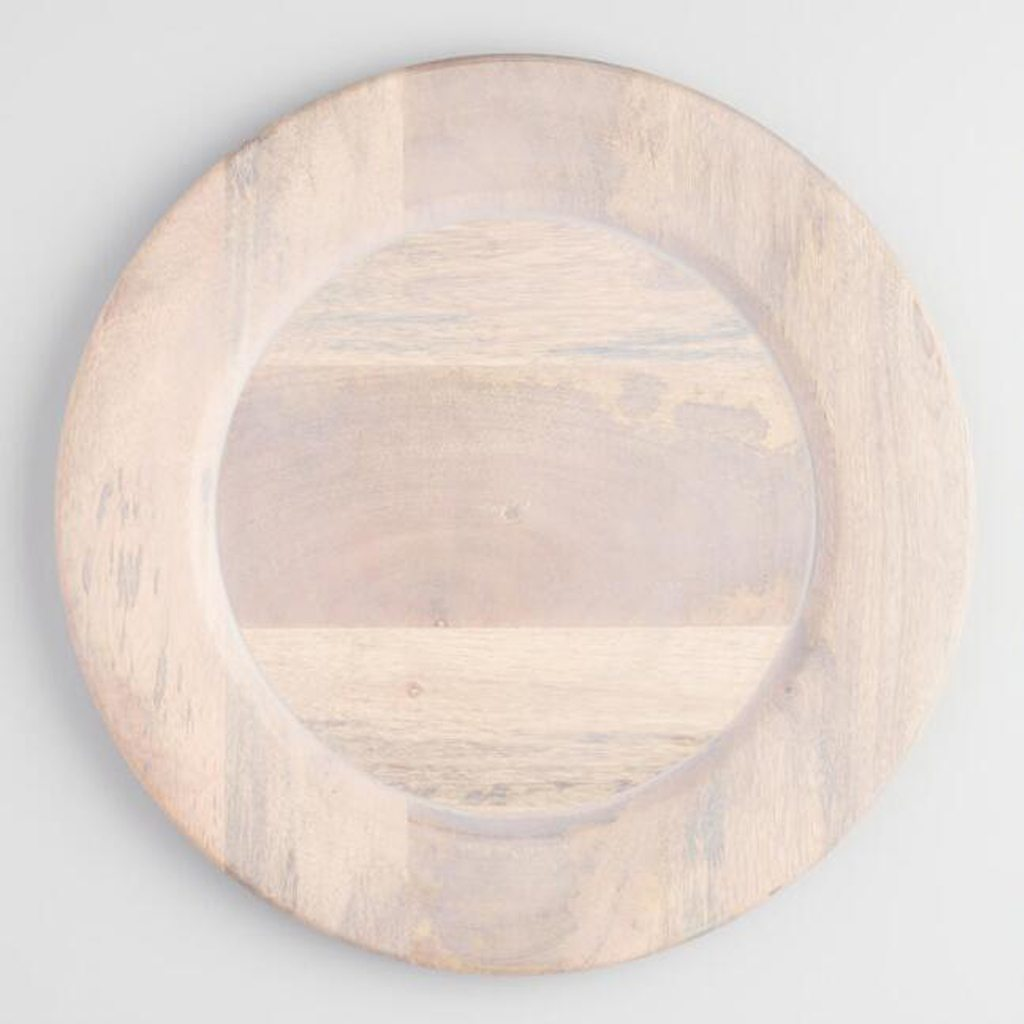 Driftwood Charger from Cost Plus World Market