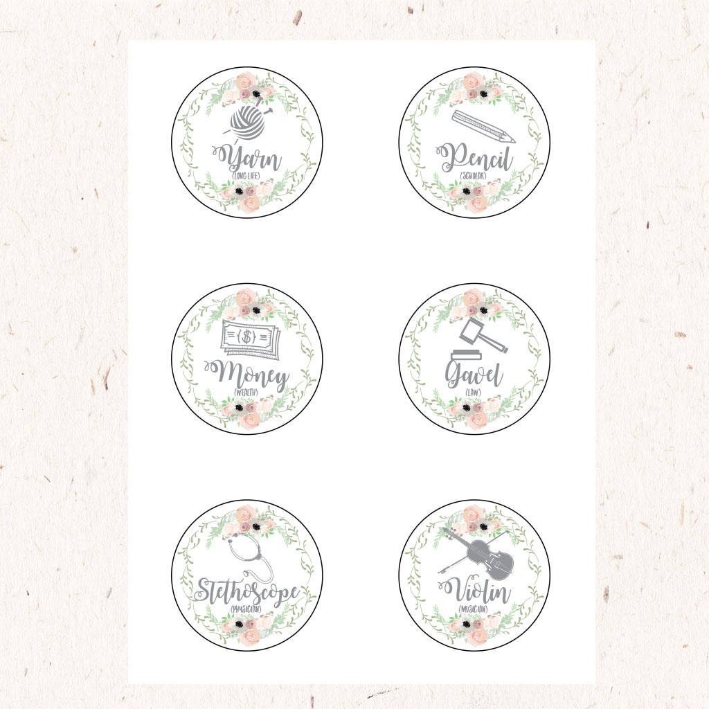 Jar Labels by DohlHouse Designs