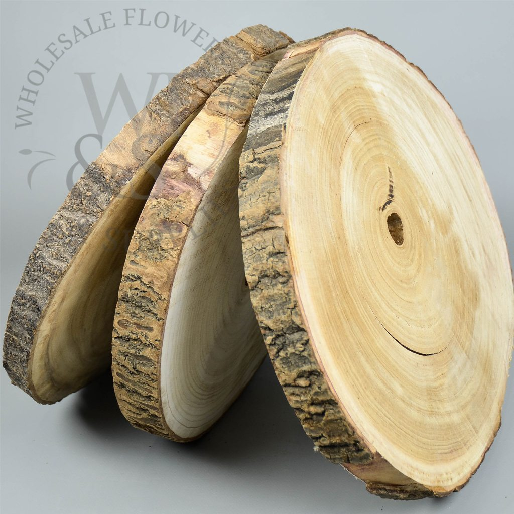Natural Wood Slab from Wholesale Flower and Supplies