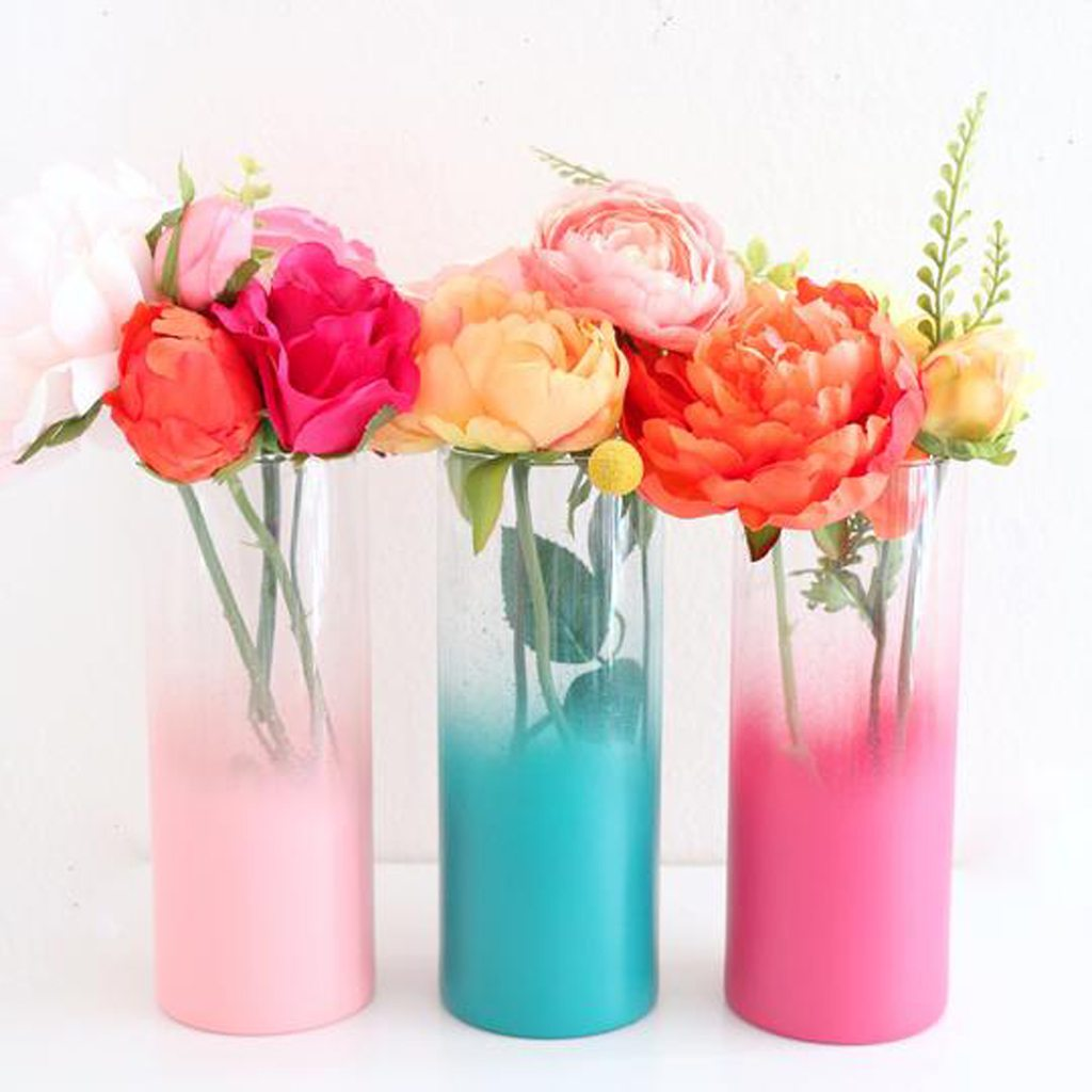Ombre Flower Vase - Choose your color by Kailo Chic
