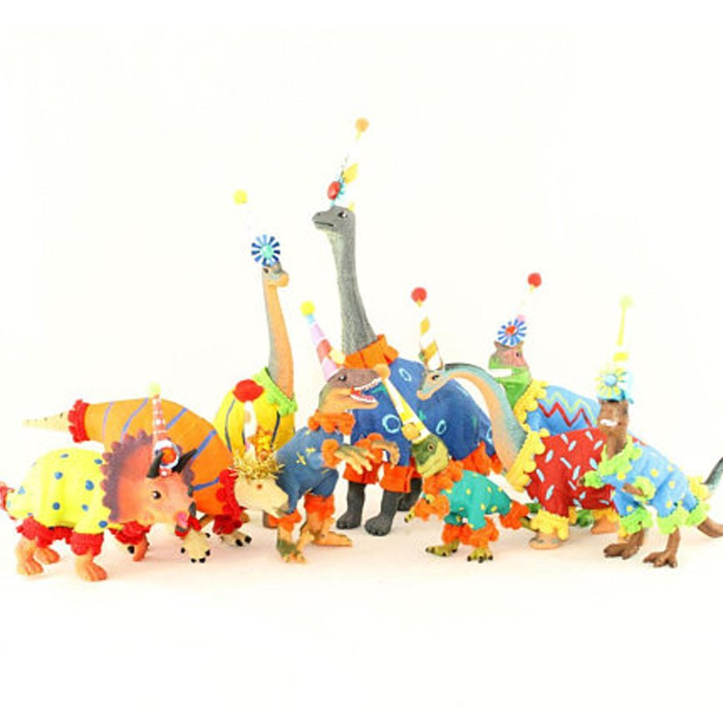 Party Dinosaur Set of 3 by Painted Parade