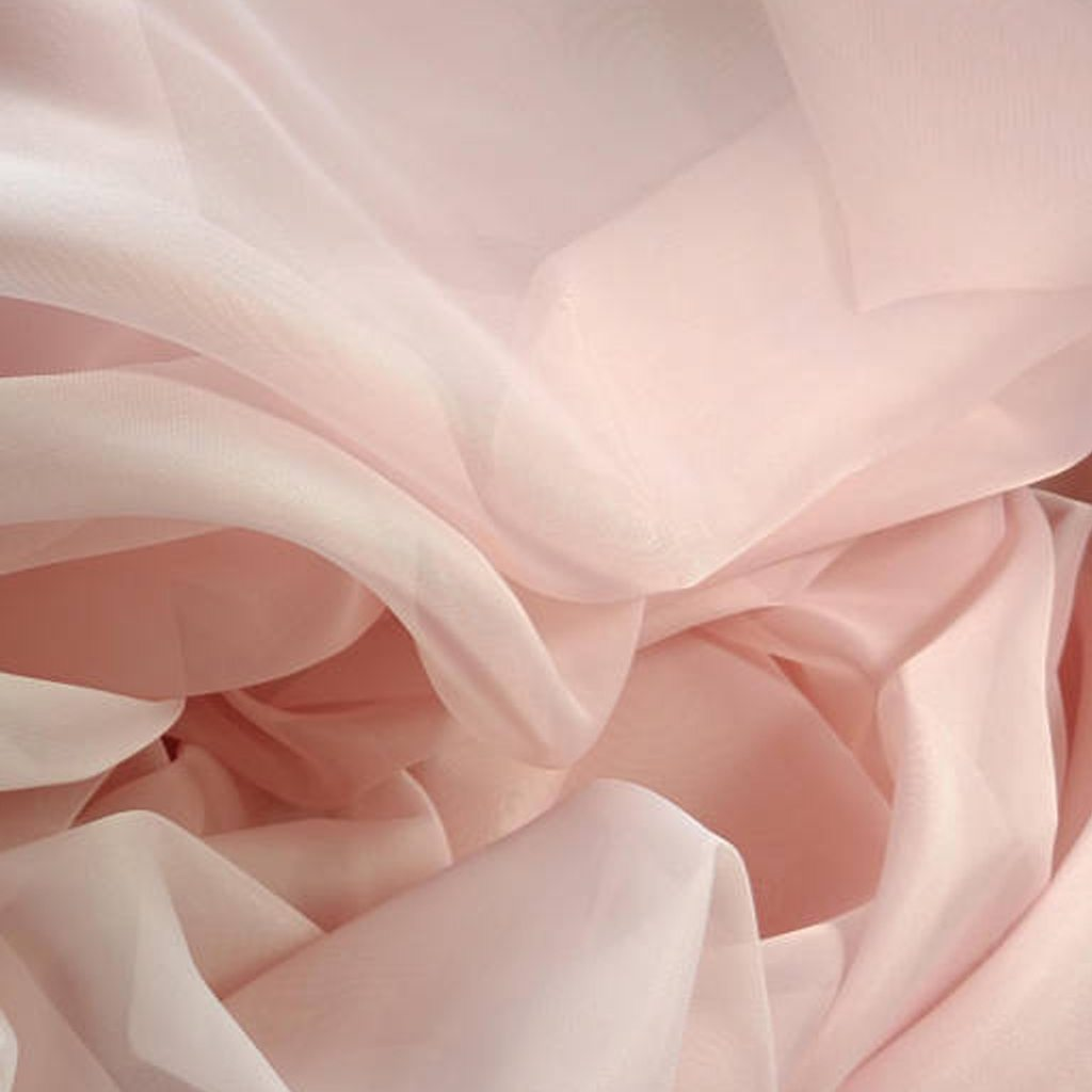 """Light pink Voil by the yard 115"""" to 116"""" wide by Hildas Just Details"""