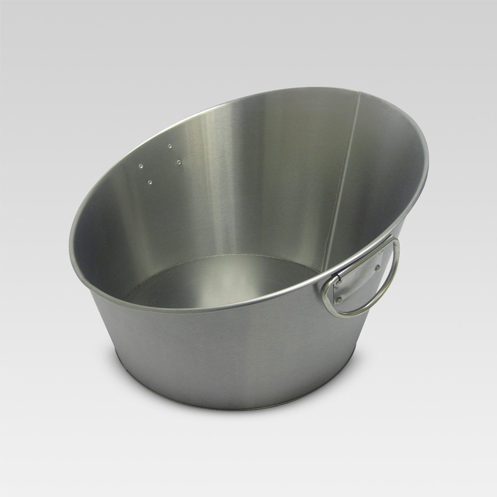 Stainless Steel Angled Beverage Tub from Threshold