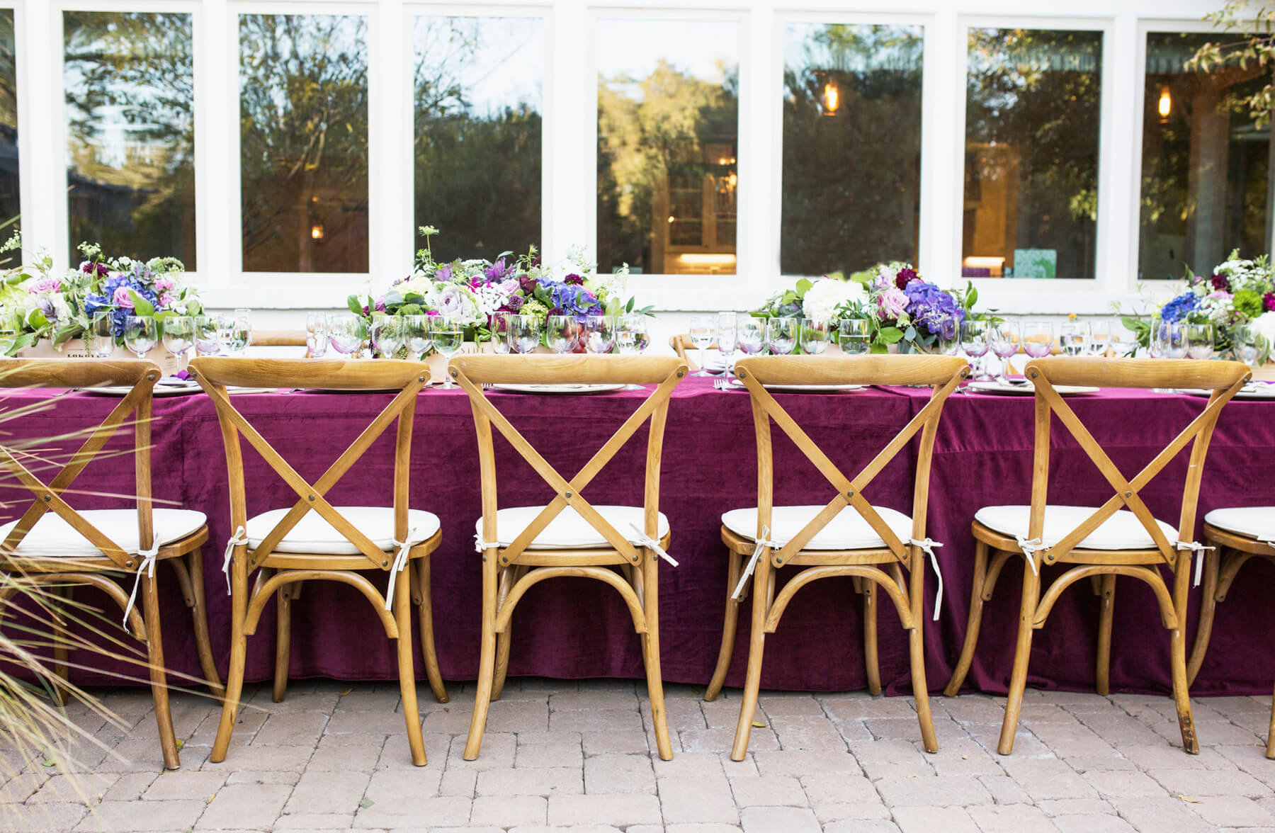 Tablescape from Wine Tasting Party styled by To Have + To Hold | Black Twine