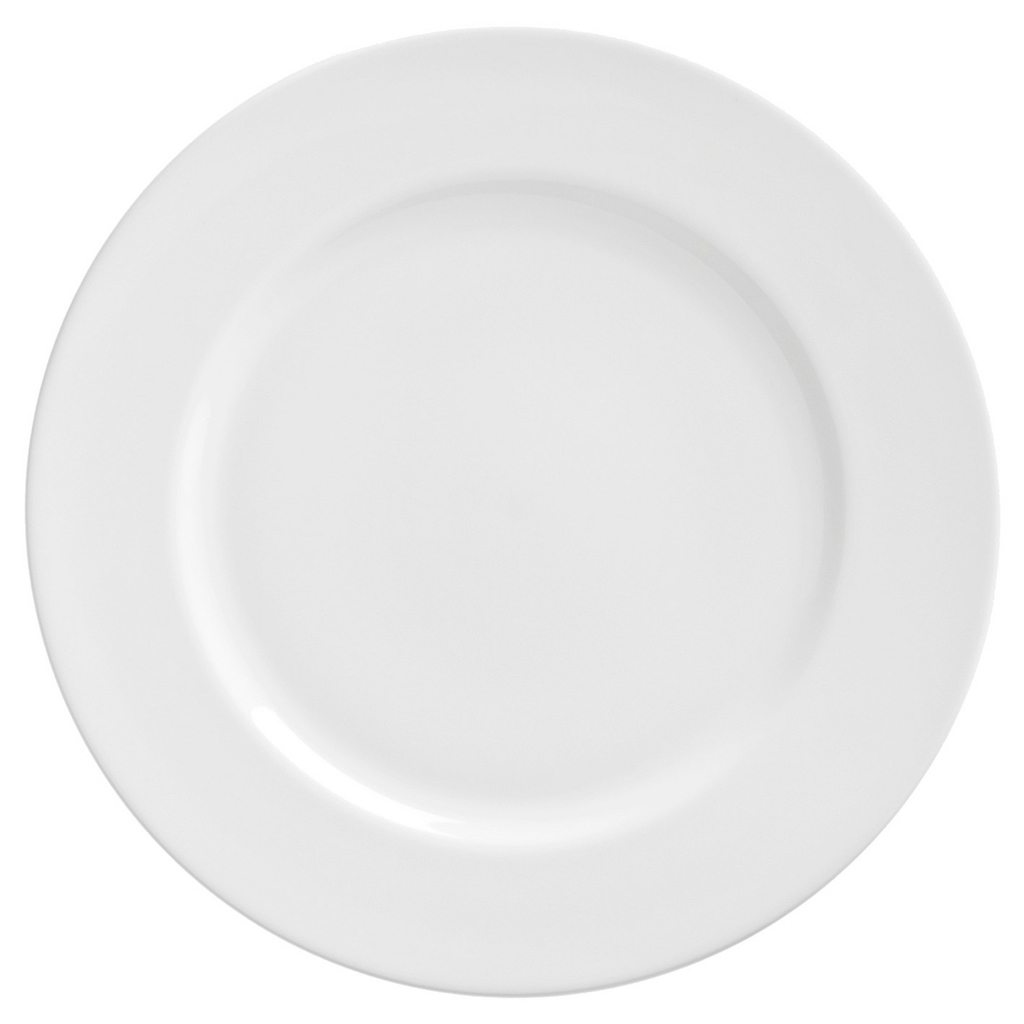 Royal Salad/Dessert Plate White Set of 6 - 10 Strawberry Street