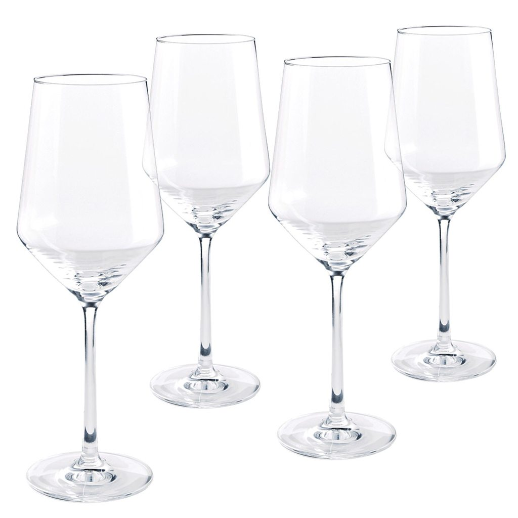 Pure 4-Piece White Wine Glass Set from Pier 1